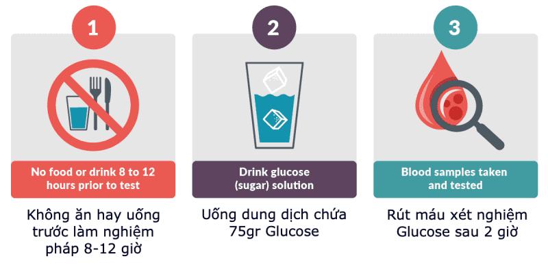 Cách thực hiện nghiệm pháp dung nạp Glucose, Oral Tolerance Glucose test